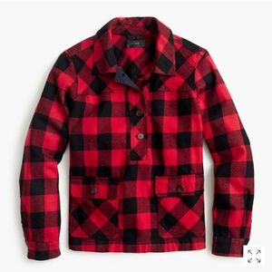 J.Crew buffalo checkered shirt jacket